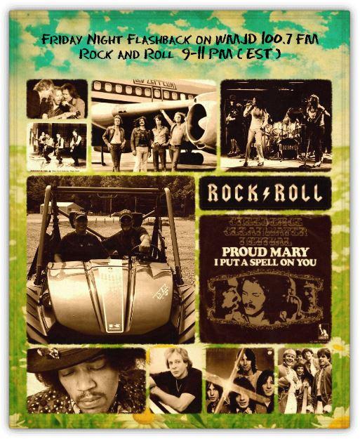 WMJD 100.7 FM & 99.3 FM - Friday Night Flashback Classic Rock Radio with Big Al Weekley - 9:00 to 11:00 PM (EST)