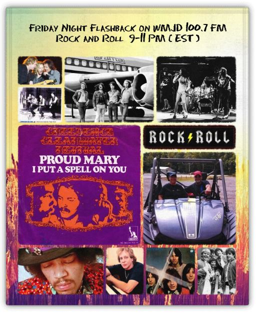 Big Al Weekley - Friday Night Flashback - 9 to 11 Eastern Time at WMJDradio dot com