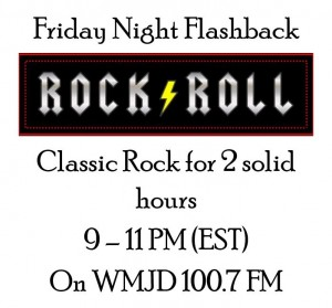 Friday Night Flashback - 2 hours of Rock and Roll on WMJD FM Radio in Grundy Virginia with Big Al Weekley