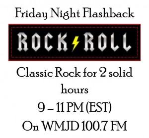 Friday Night Flashback - 2 hours of Rock and Roll on WMJD FM Radio in Grundy Virginia with Big Al Weekley