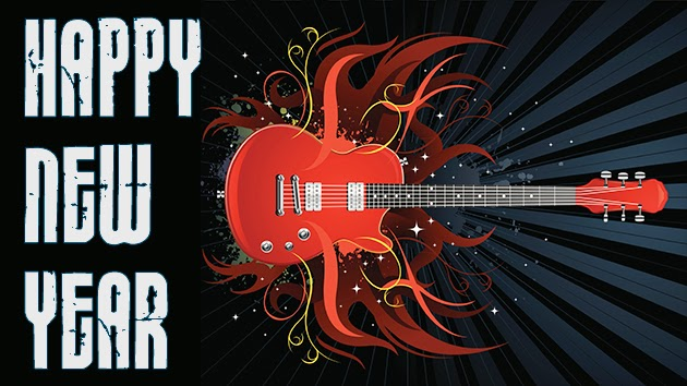 Rock and Roll Happy New Year 2016 from WMJD and Big Al Weekley
