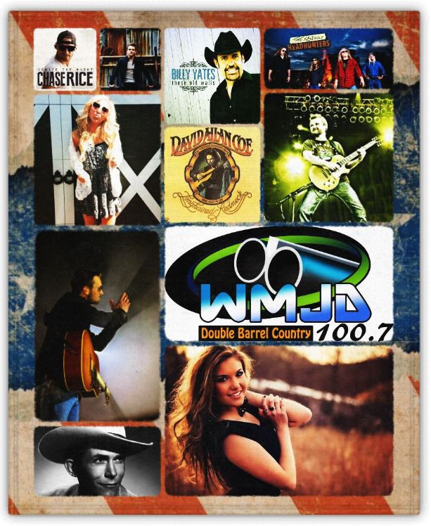 WMJD Double Barrel Country 100 point 7 FM - Grundy VA - WMJDradio dot com