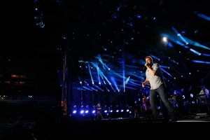 Randy Houser Performs at LP Field on Friday June 12 - 2015 - photo credit - Donn Jones - CMA