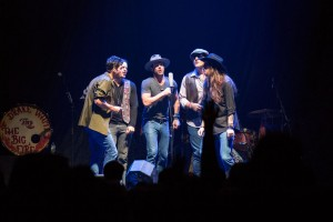 Drake White and The Big Fire Perform - photo by Lynn Wilson